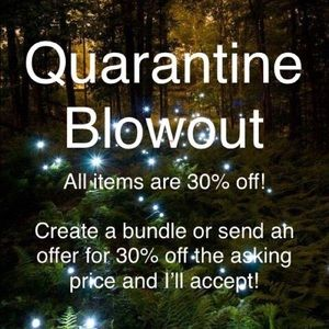 🦠 QUARANTINE BLOWOUT SALE 🦠